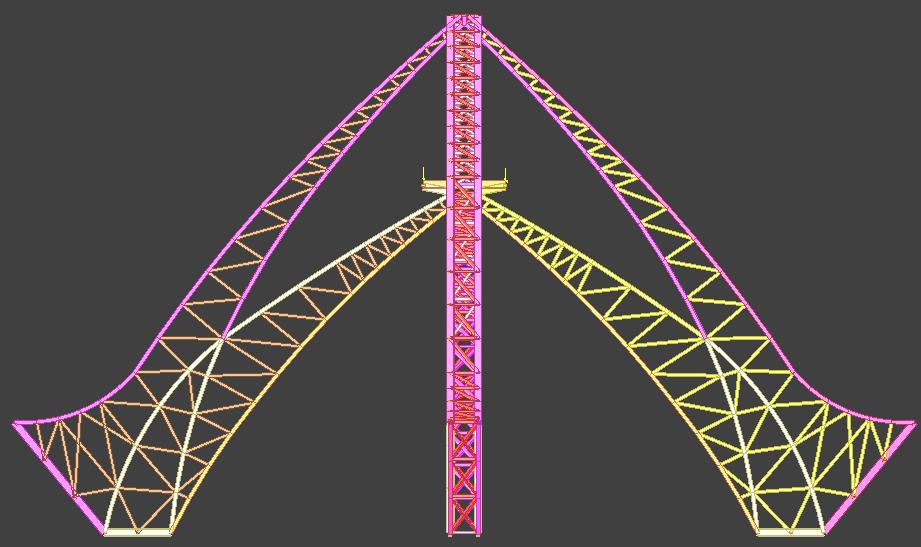 空间钢结构_佳构strat实例工程展示
