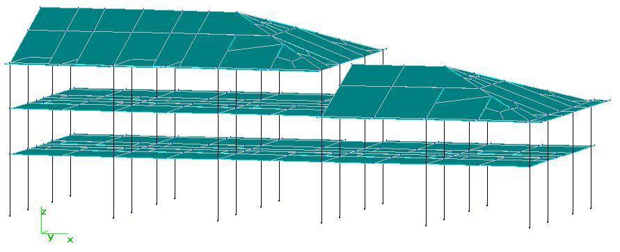 佳构strat计算坡屋面框架结构